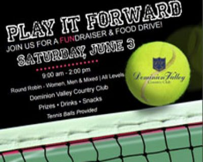 Play It Forward - Dominion Valley Tennis Fundraising for HRFP