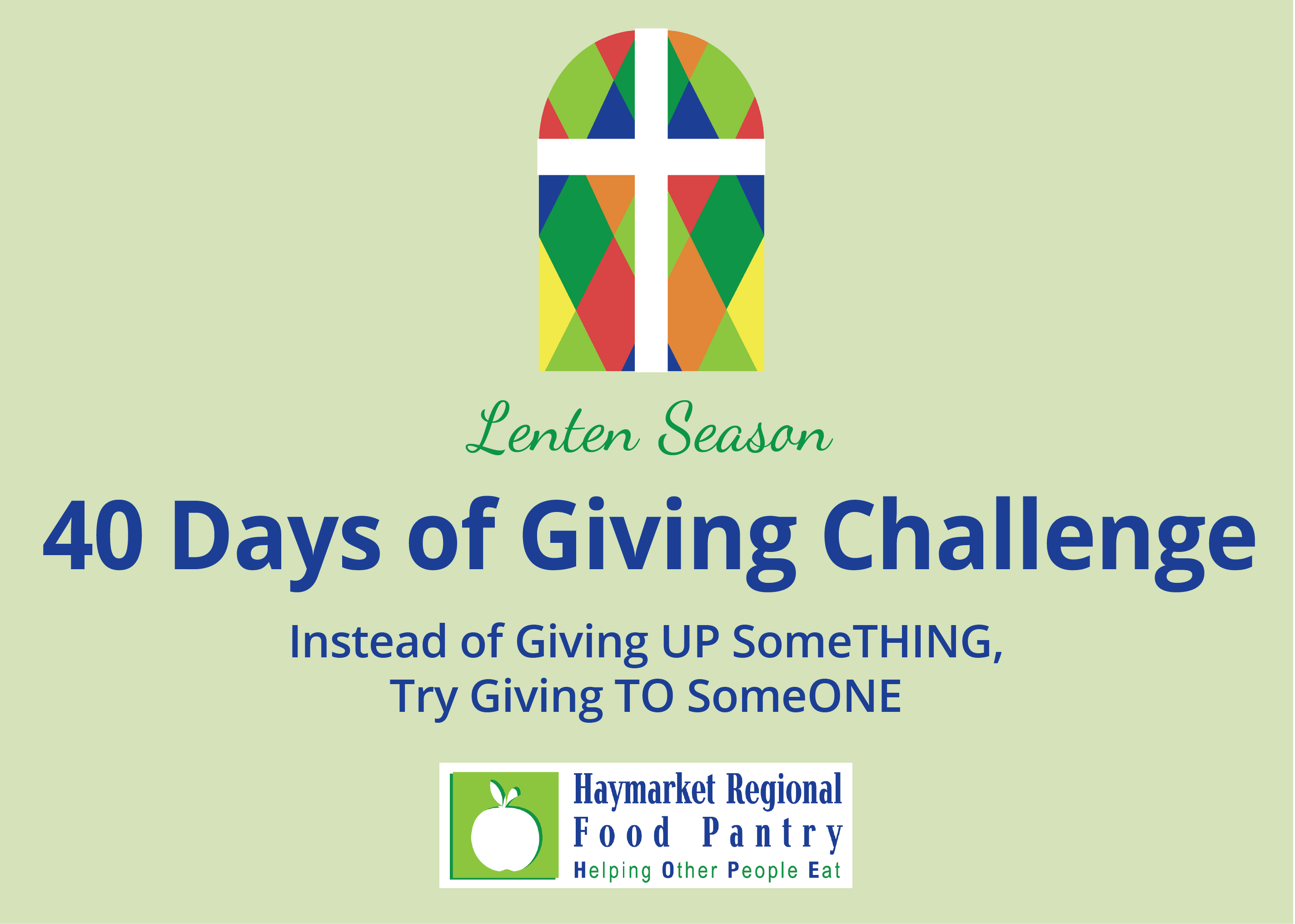 40 Days of Giving Challenge